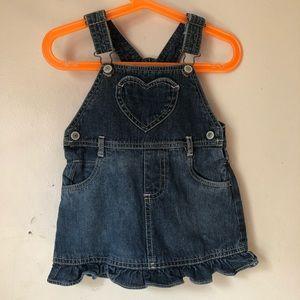 Arizona Jeans 24M Adorable Jeans Jumper Dress